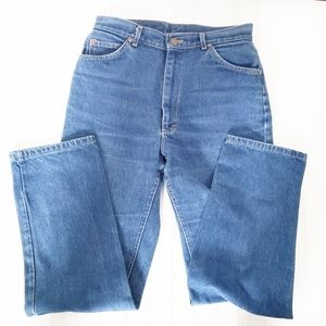 Vintage sz 14 Lee high waisted tapered Mom jeans